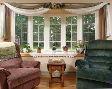 ... or double hung bow windows available in 4 5 or 6 window configurations