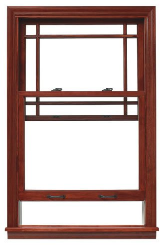 Double-Hung Wood Window